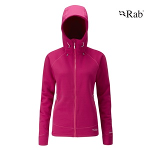 womens power stretch pro hoddy rab